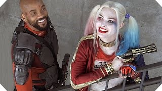 On the set of SUICIDE SQUAD # 4 (Margot Robbie, Will Smith - 2016)