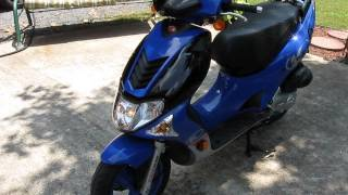 5. 2004 KYMCO Super 9 LC (liquid-cooled)