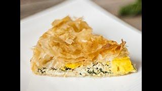Videoricetta: torta salata con ricotta e spinaci