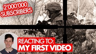 Reacting to my first airsoft video and teaser for the 2 MILLION SUBSCRIBER special ❗❗ NEW VIDEO every Monday and ...