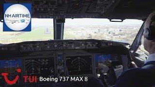 Video BOEING 737 MAX 8 TUI Fly COCKPIT VIEW from AMSTERDAM to ROTTERDAM MP3, 3GP, MP4, WEBM, AVI, FLV Februari 2019