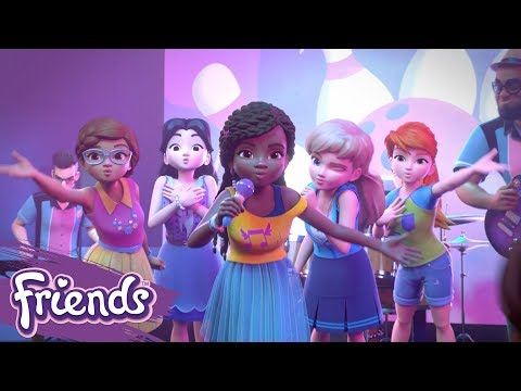 Friends: Girls on a Mission | LEGO® Music Video: There For You