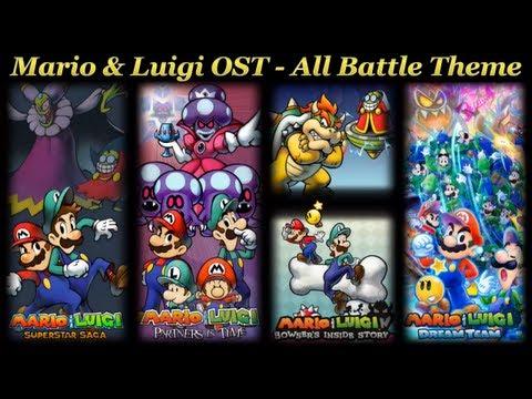 Mario & Luigi OST - All Battle Theme