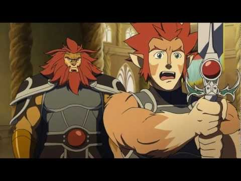 Thundercats 2011 clip 1 - Lion-O learns to use the Sword of Omens