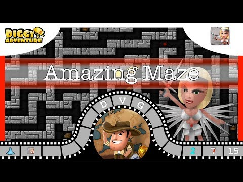 [~freya~] #15 Amazing Maze - Diggy's Adventure