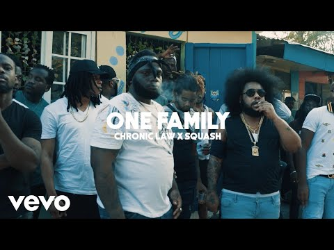 Chronic Law, Squash - One Family (Official Video)