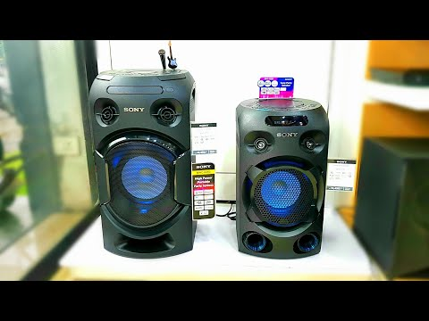 Sony MHC-V02 VS Sony MHC-V21D BATTLE GROUND (LET'S SEE WHO IS THE BEAST IN BUDGET SEGMENT)SOUND TEST