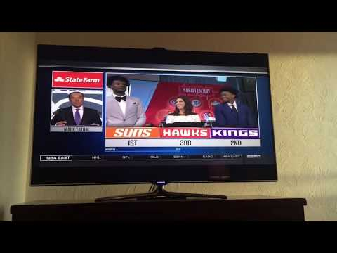 Crazy NBA Draft Lottery reaction