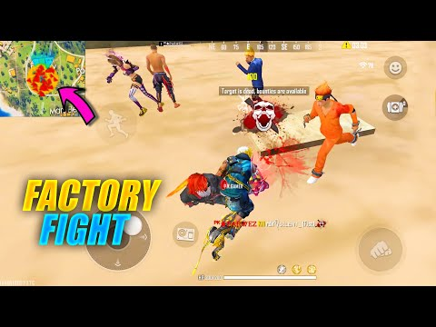 Garena Free Fire Factory Fist Fight and Funny Gameplay With Karan - P.K. GAMERS King Of Factory