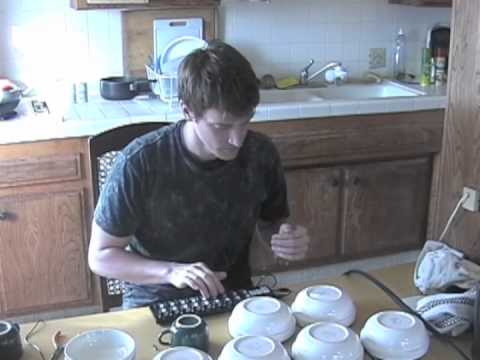 Homemade Kitchen Synthesizer