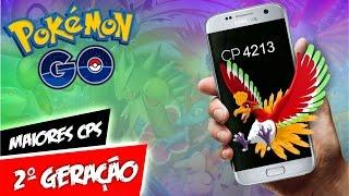 Pokémon GO Segunda Geração CP Máximo & Tabelas by Pokémon GO Gameplay