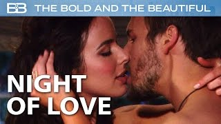 The Bold and the Beautiful / Liam and Ivy Get Intimate