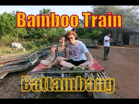 VIDEO: Bamboo Train in Battambang