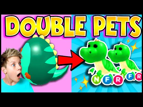 How To DOUBLE PETS in Adopt Me!! 100% WORKS! TikTok Hacks That Actually Work!! PREZLEY