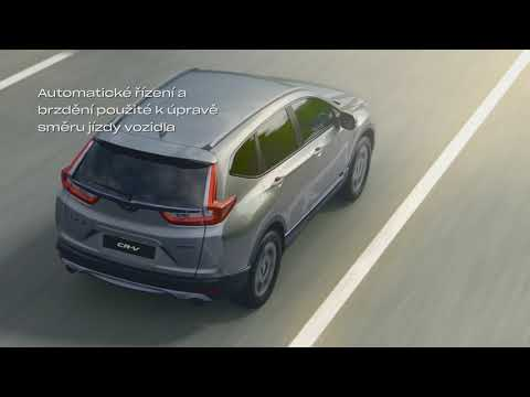 Honda SENSING - systém zmírnění rizika vyjetí z komunikace a rozpoznání dopravních značek