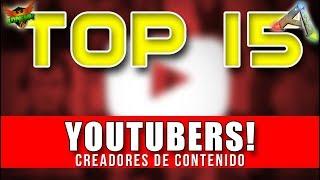 TOP ARK 🎬 | MEJORES YOUTUBERS DE ARK // CREADORES DE CONTENIDO | ARK SURVIVAL EVOLVED