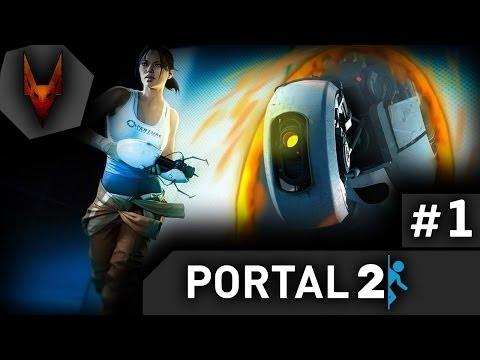 Portal 2 # 1 [Начало]