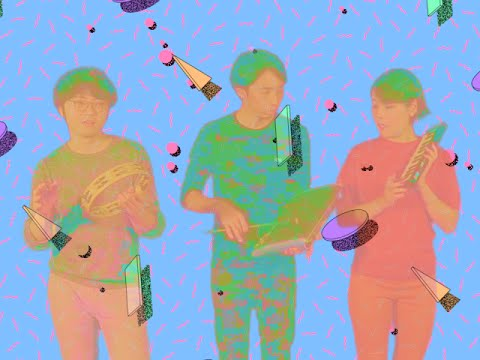 Here's the super-retro, hyper-abstract video for 'No Fun' by Japanese trio CRYSTAL