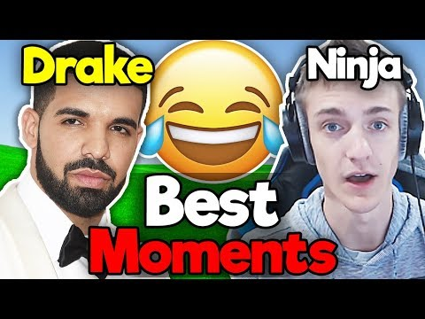 BEST NINJA AND DRAKE DUO MOMENTS!! - Best Fortnite Moments #10 (видео)
