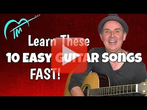 10 Easy Acoustic Guitar Songs – Rapid Song Learning System