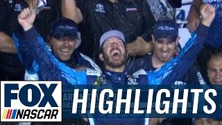 2017 Kansas Highlights (5.13.17)   FOX NASCAR