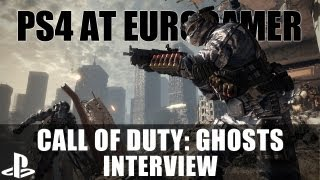 PS4 At Eurogamer: Call Of Duty: Ghosts Interview - PlayStation 4, New Story Details, Multiplayer