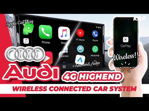 ALL AUDI wireless Carplay & AA (4g system) 2016~2019 year