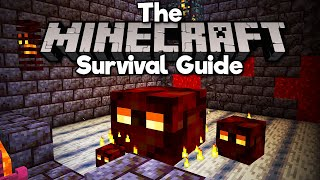 Magma Cube Spawner Farm! • The Minecraft Survival Guide (Tutorial Lets Play) [Part 329]
