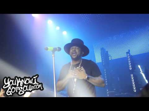 "The-Dream Performing ""Falsetto"" Live In Vancouver 10/15/15"