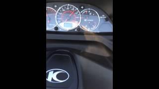 4. Kymco xciting 250i top speed turkey