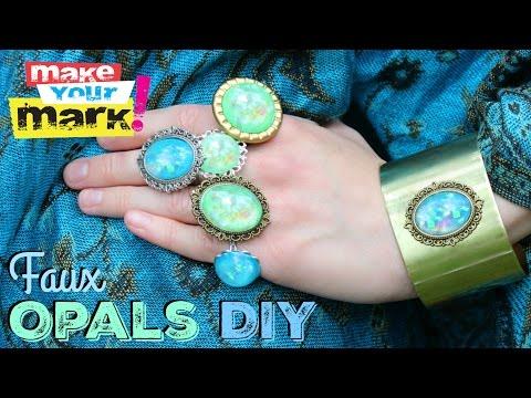 Faux Opals DIY