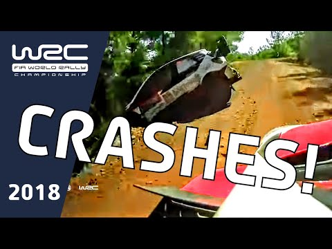WRC 2018: Accidentes a bordo