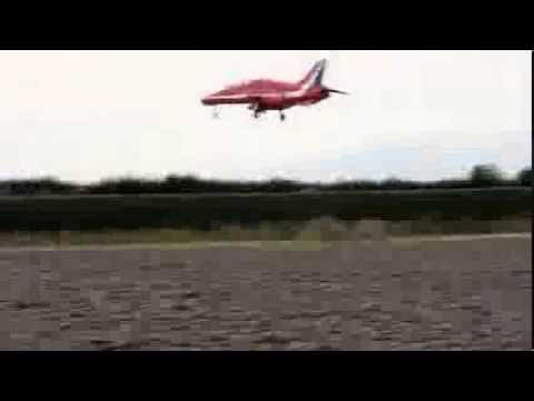 Red Arrows Run and Break.(With Air Traffic Control)