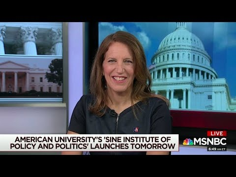 President Sylvia Burwell Announces Sine Institute of Policy and Politics on Morning Joe