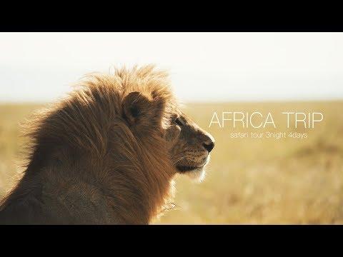 アフリカ旅 〜キャンプ・サファリツアー〜【VLOG】 видео