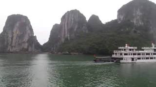 Boat Ride Through Ha Long Bay in Vietnam