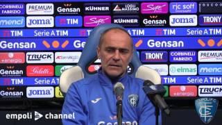 Preview video Le parole di mister Martusciello prima di Empoli-Palermo