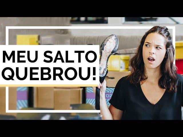 O QUE FAZER QUANDO DÁ RUIM NO SEU SAPATO? PERRENGUE DE CALÇADOS! - Closet da Mari