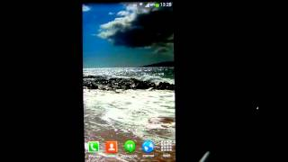 Ocean Waves Live Wallpaper HD2 YouTube video