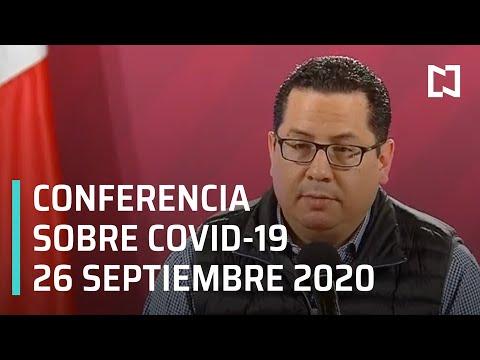 Conferencia Covid-19 en México - 26 de septiembre 2020