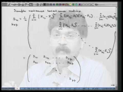 Mod-01 Lec-02 Grundbegriffe auf multivariate Verteilung - II