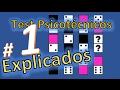 Test psicotecnico # 1 TEST DE DOMINO. ¿Cómo resolverlos? Explicados y resueltos