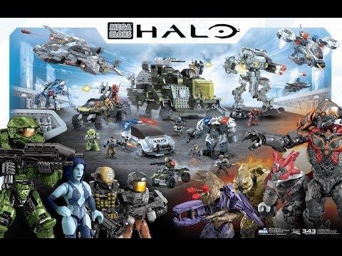 Halo Mega Bloks - Sets 2014 New Images