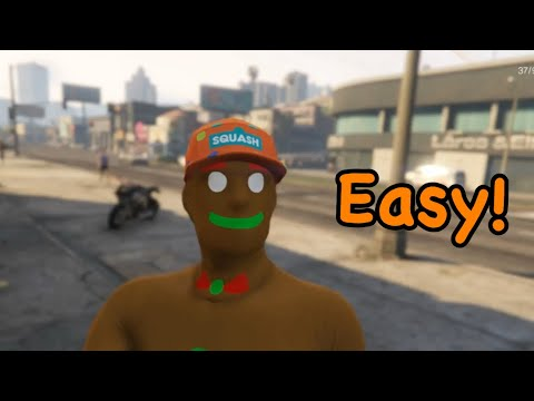 How to make a simple Gingerbread man outfit in GTA 5 online