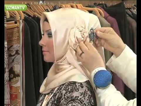 Le Guide du Hijab » Comment mettre le hijab Le foulard Turque. parti 2