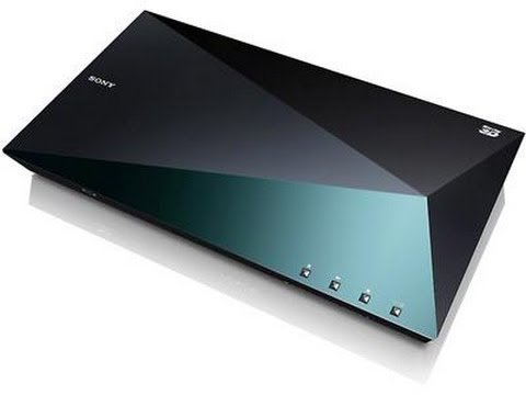 Sony BDP-S5100 3D WiFi Blu ray player unboxing & review