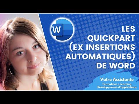 comment appliquer un modèle word à un document existant