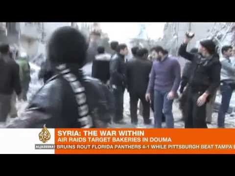 Syria 'vacuum bombs' kill civilians in Douma