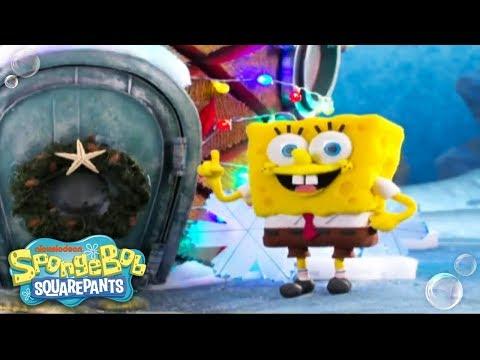 It's A SpongeBob Christmas | 'Santa Has His Eye On Me' Music Video | Nick