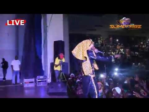 WINKY D @ AQUATIC COMPLEX Part 1(Official video by slimdoggz entertainment